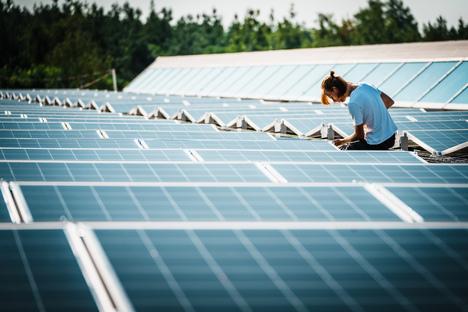 Größte Solaranlage im Dresdner Norden entsteht