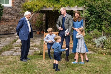 Prinz George darf Riesenhaizahn behalten