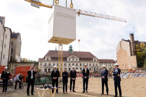 Grundstein für Senckenberg-Campus in Görlitz ist gelegt