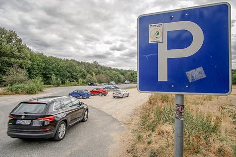 Bautzen: Parkplatz-Ärger am Bautzener Stausee