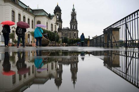 Das bringt ein nasses Wochenende für Dresden