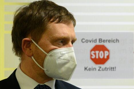 Sachsen: Corona: Kretschmer gegen Nahverkehr-Einstellung