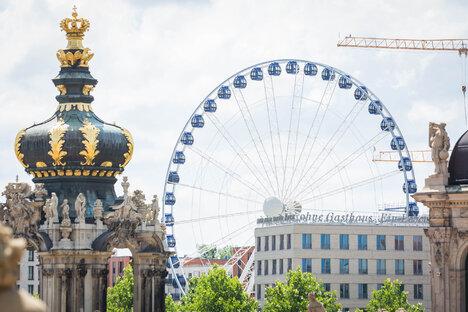 Dresden: Riesenrad kehrt in die Dresdner Innenstadt zurück