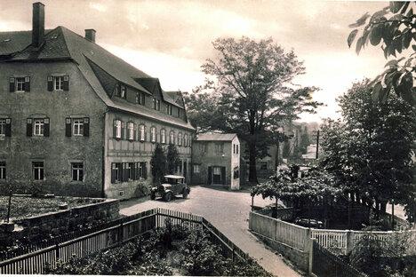 Der traurige Rest vom Gasthof Seifersdorf