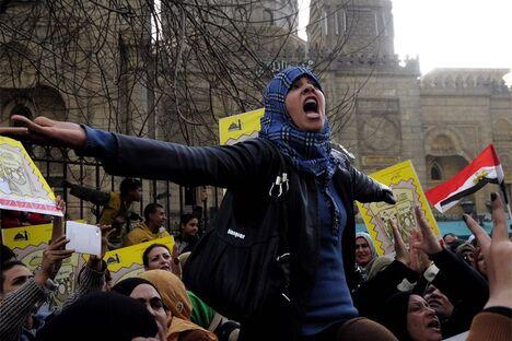 Die Wut der arabischen Frauen