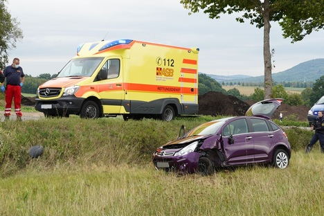 Seniorin bei Unfall schwer verletzt