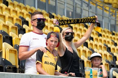 Dynamo: So lief Dynamos erstes Training für die zweite Liga