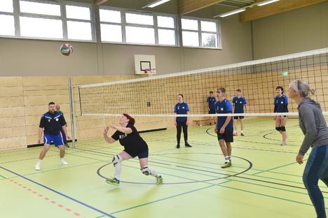 Neue Turnhalle Schmiedeberg geht in Betrieb