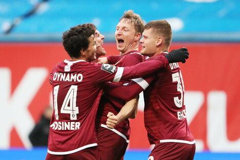 Dynamo: Dynamo demonstriert neue Stärke im Ostklassiker