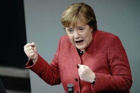 Corona: Merkel dringt auf harten Lockdown
