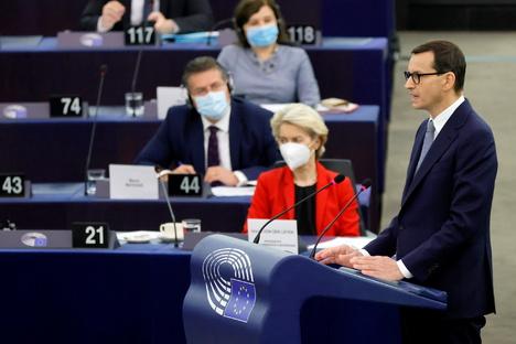 """Polen wirft EU-Kommission """"Erpressung"""" vor"""