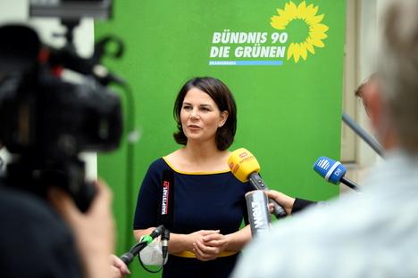 """Baerbock fordert """"Transformationsgeld"""" für Kohle-Beschäftigte"""