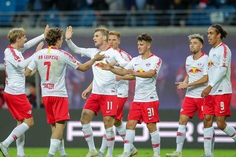 RB Leipzig siegt 6:0 gegen Nürnberg