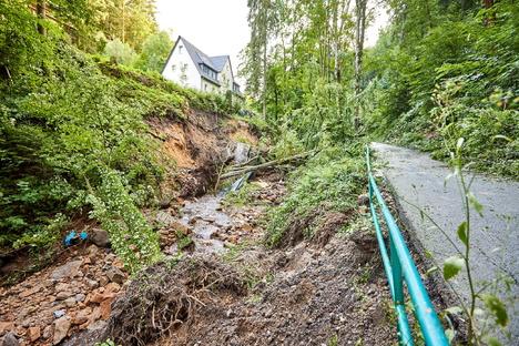 Hochwasser: Sandsteinspiele sammeln für Reinhardtsdorf