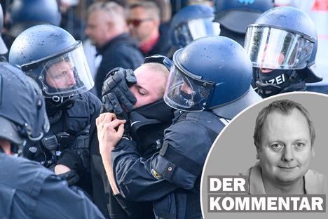 Dynamo: Die Polizei darf nicht vor Gewalttätern kapitulieren