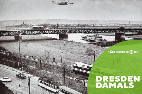 Als die Autobahn von Dresden nach Leipzig fertig wurde