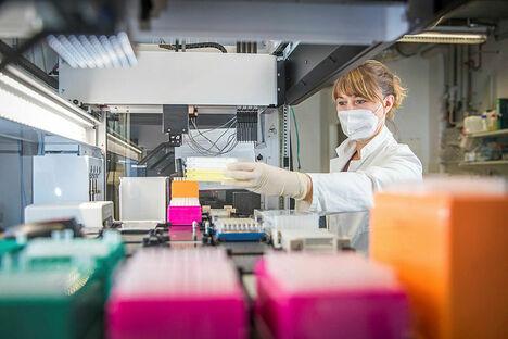Arbeit und Bildung: Dresdner Biotechnologen lesen das Virus