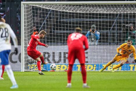 RB Leipzig setzt Siegeszug fort