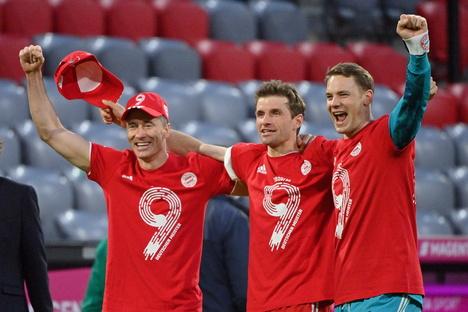 FC Bayern ist zum 31. Mal deutscher Meister