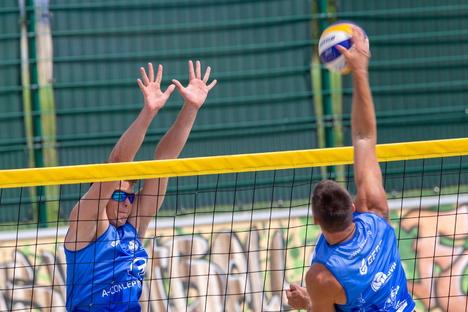 Pirnas Geibeltbad wird zur Beachvolleyball-Arena