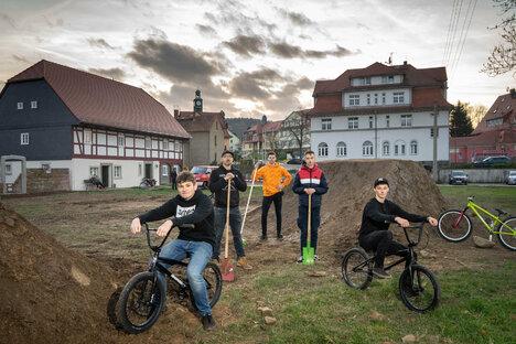 In Kirschau entsteht eine Attraktion für Fahrrad-Fans