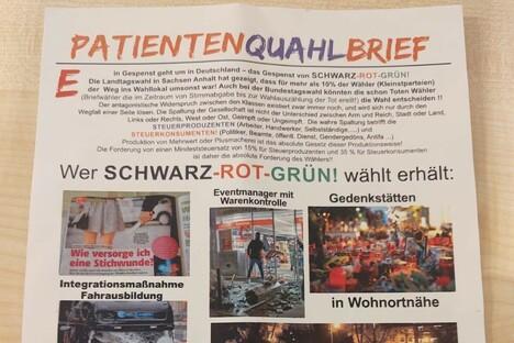 Politik: Illegale AfD-Werbung in Meißen?