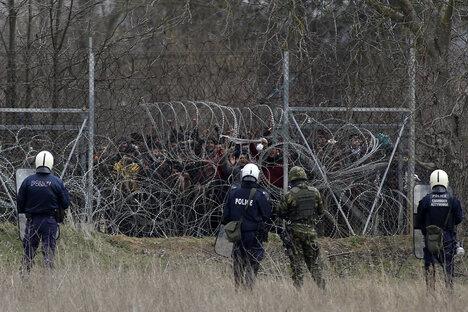 Wie es Griechenland mit den Rechten von Flüchtlingen hält