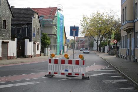Kötzschenbrodaer Straße plötzlich gesperrt