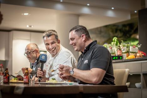 Augusto: Mitkoch-Show im Küchenzentrum