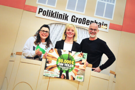 PSR-Moderatoren erfreuen Großenhainer