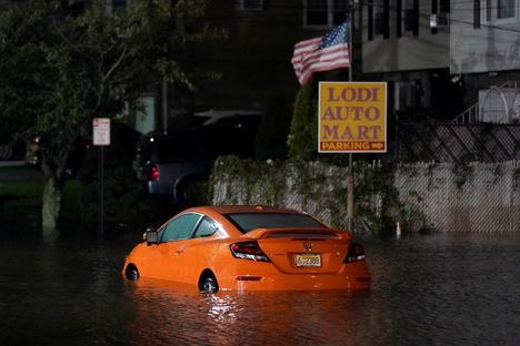 New York ruft nach Rekordregen Notstand aus