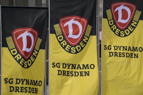 Dynamo bestreitet ein Testspiel in Pirna