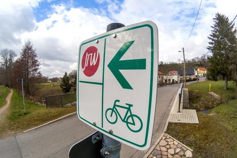 Ein Provisorium für den Jahnatalradweg