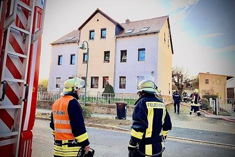 Wohnungsbrand in Lohmen
