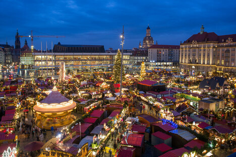 Dresden sagt Striezelmarkt am ersten Advent ab