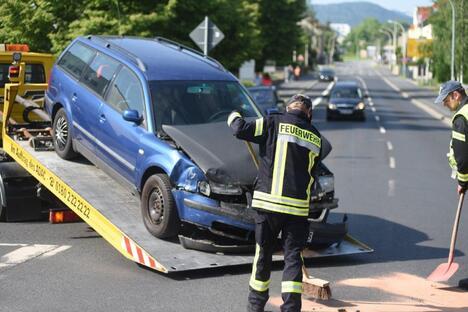 Kreuzungs-Crash in Zittau