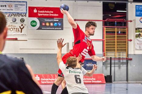 Ärger nach dem Derbysieg der Pirnaer Handballer