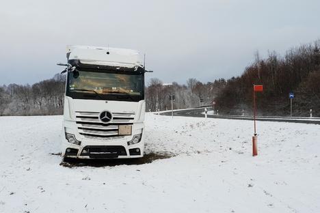 Mehrere Unfälle nach Wintereinbruch