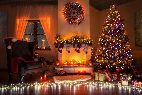 Dem Weihnachtsschmuck Grenzen setzen