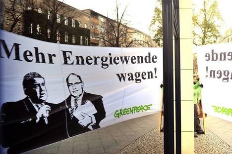 Union und SPD nehmen Wind aus der Energiewende