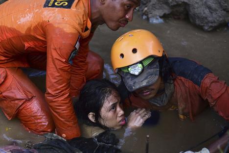 Nach Tsunami in Indonesien: Zittauer Schüler helfen