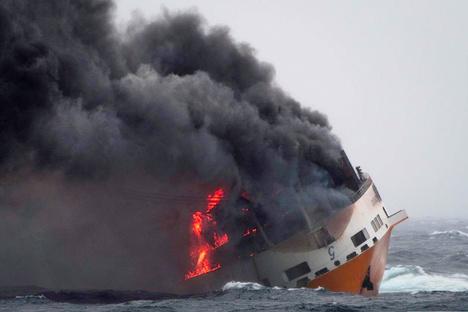 Frankreich: Ölteppich bedroht Atlantikküste