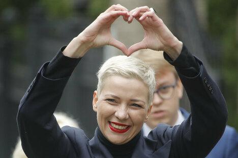 Anklage gegen Oppositionelle Kolesnikowa