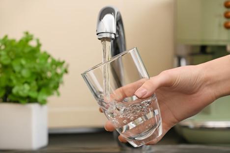 Beneidenswert gutes Trinkwasser