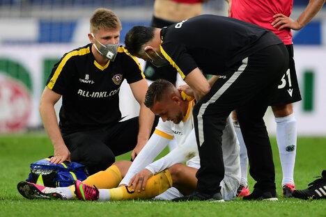Dynamos größte Sorgen vor dem Abstiegsendspiel