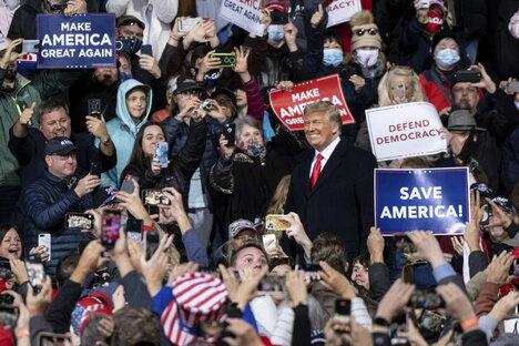US-Präsident: Siegesfest nach Niederlage