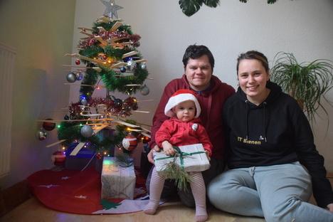 Weihnachten bei Zittaus Shopping-Königen
