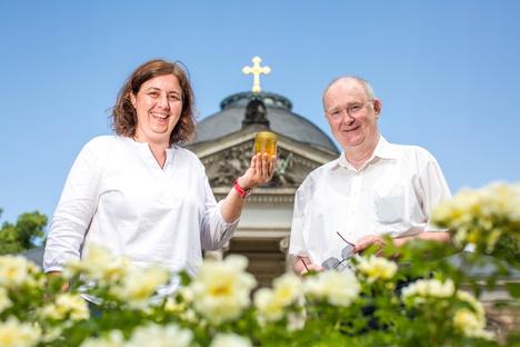 Dresden: Honig vom Dresdner Gottesacker