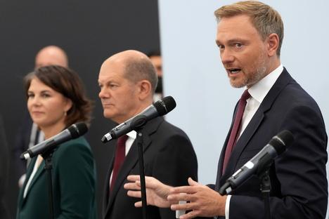 Auf diese Punkte haben sich SPD, Grüne und FDP geeinigt