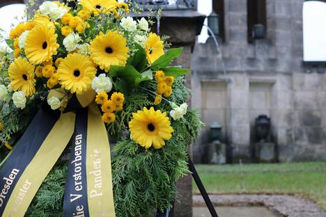 Gedenken der Toten der Corona-Pandemie